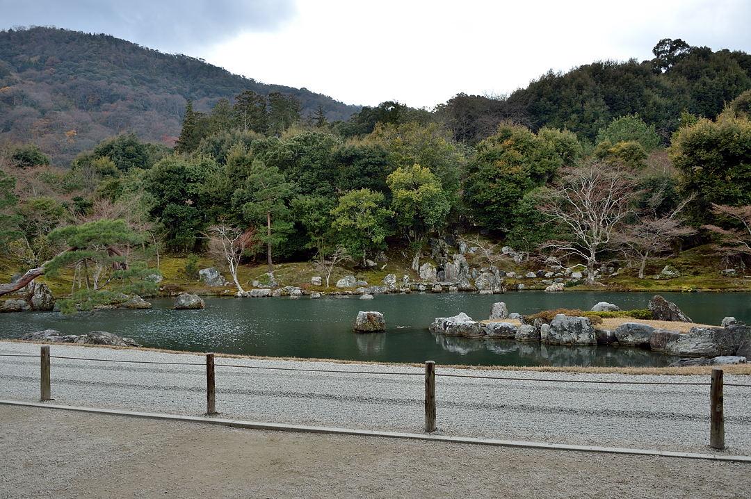 天龍寺の庭
