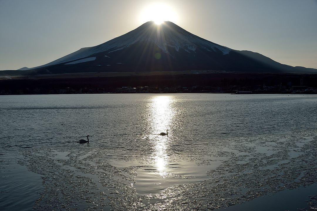 15:59 ダイアモンド富士