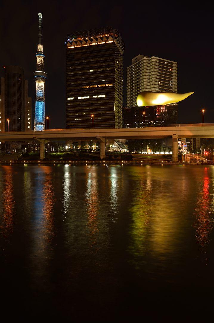 19:35 隅田川から