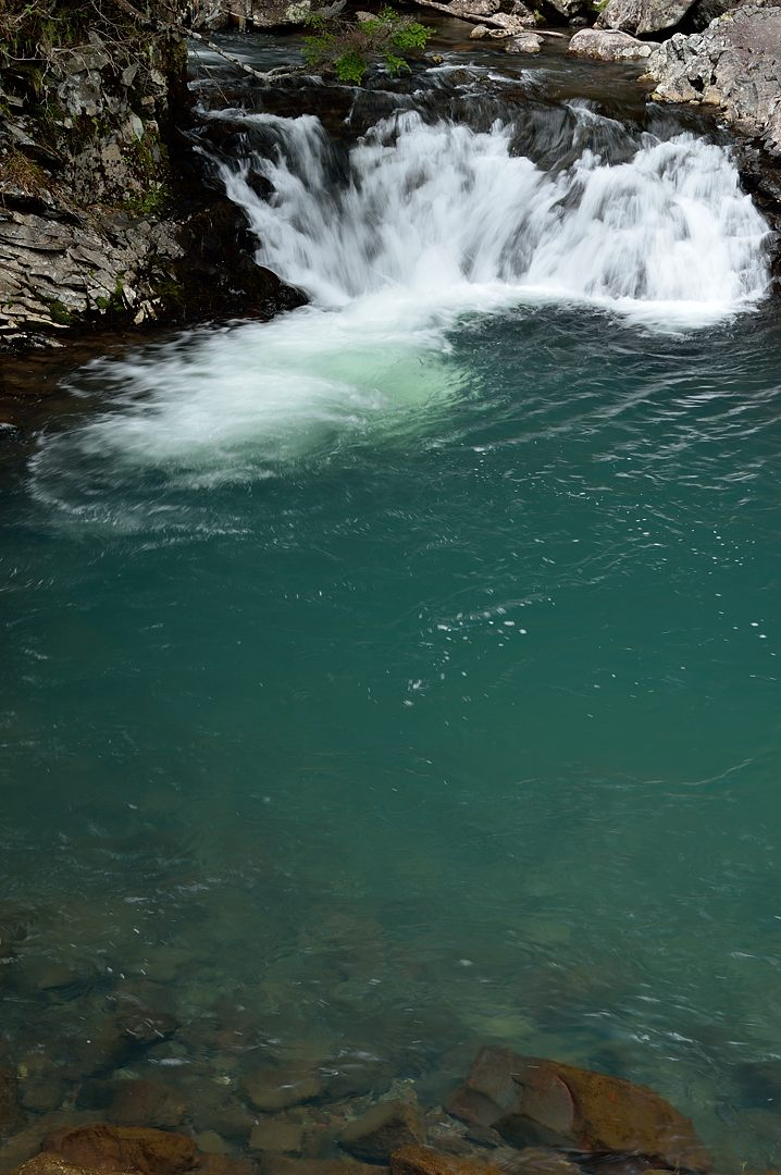 【11:56】 善五郎の滝・下流の淵
