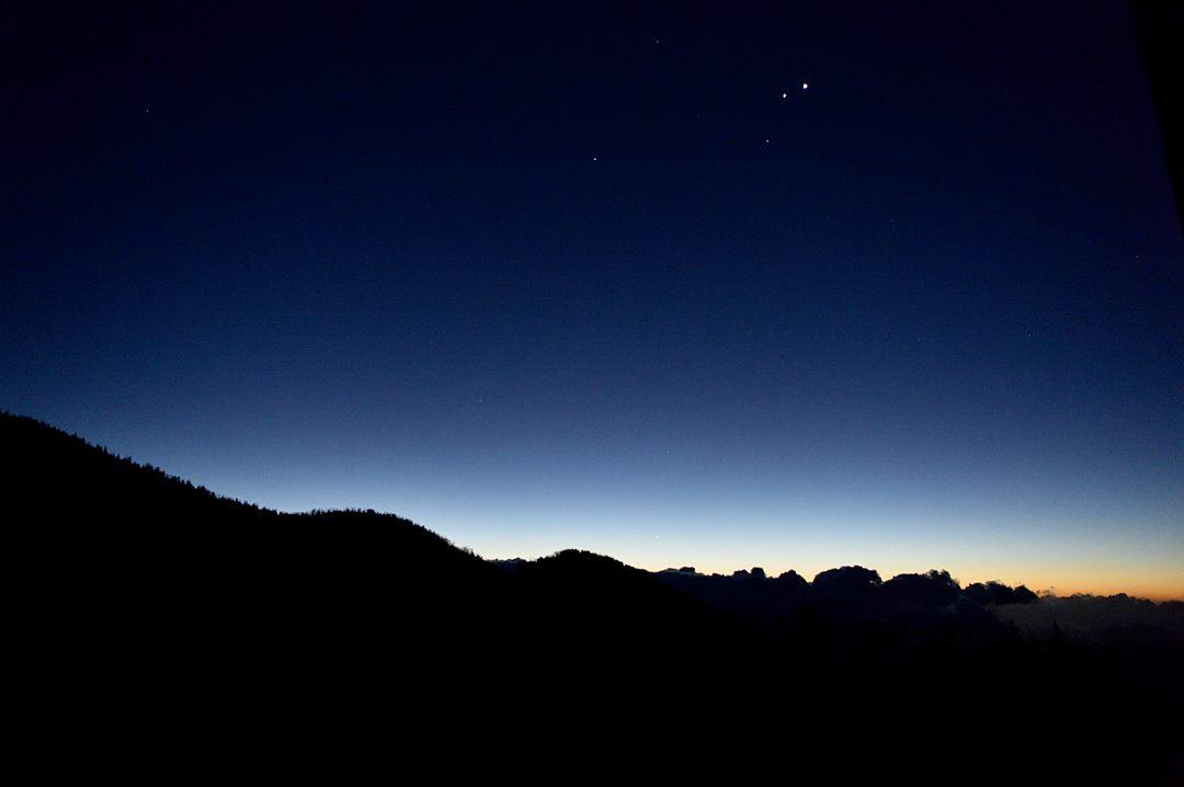 【05:13】 東の空には、金星