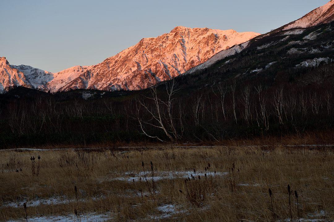 【06:06】 白馬岳のモルゲンロート