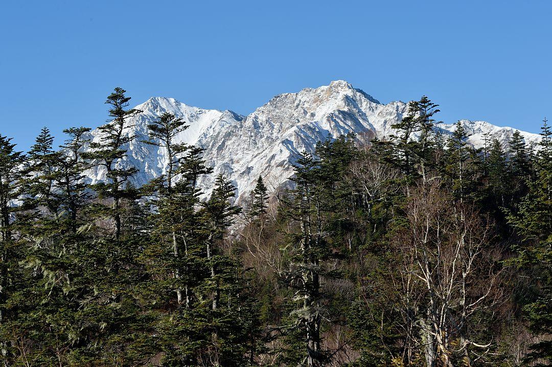 鑓ヶ岳、杓子岳