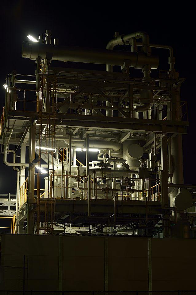 石油プラント