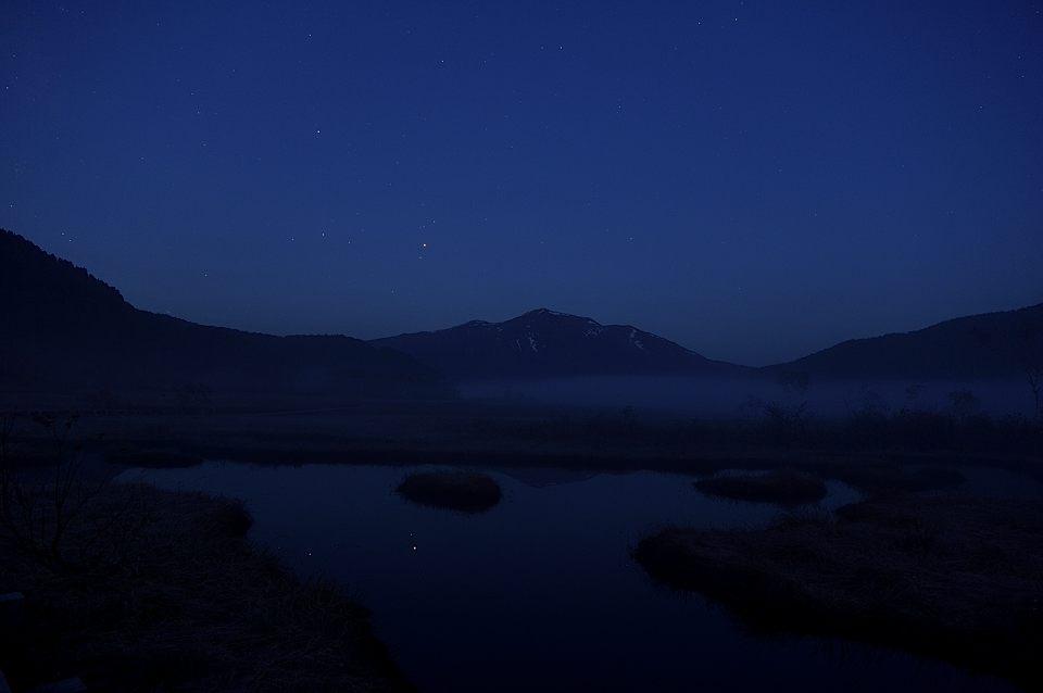【03:38】 薄明に残る火星