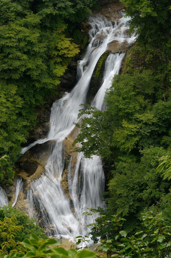 下段の滝・全景