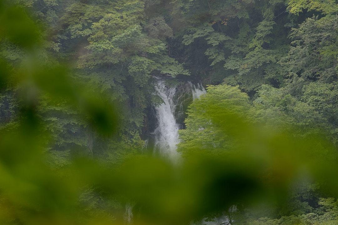 上段の滝・落ち口