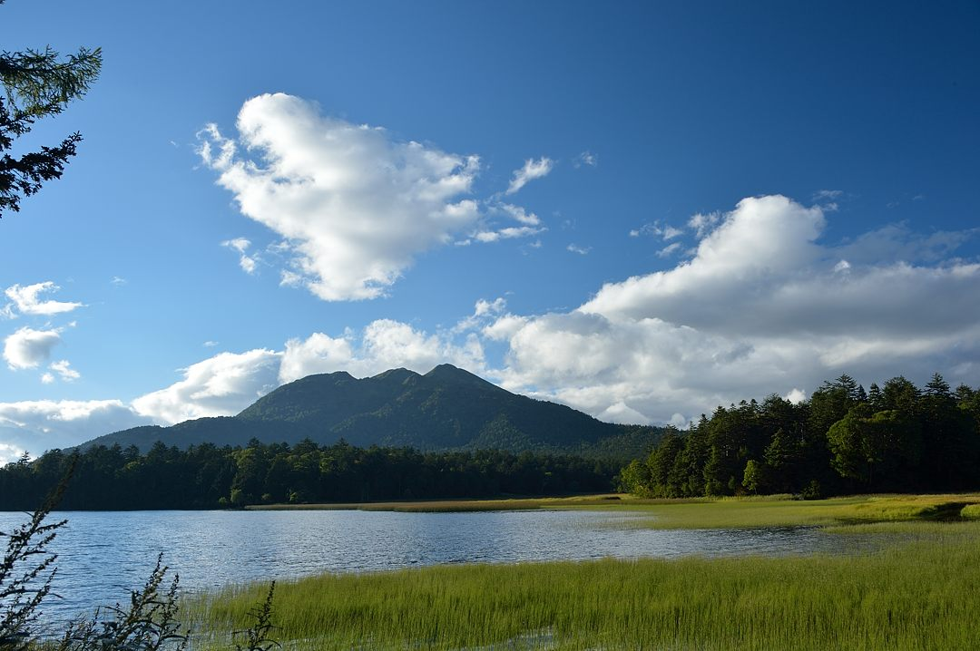 燧ケ岳、夏の雲?