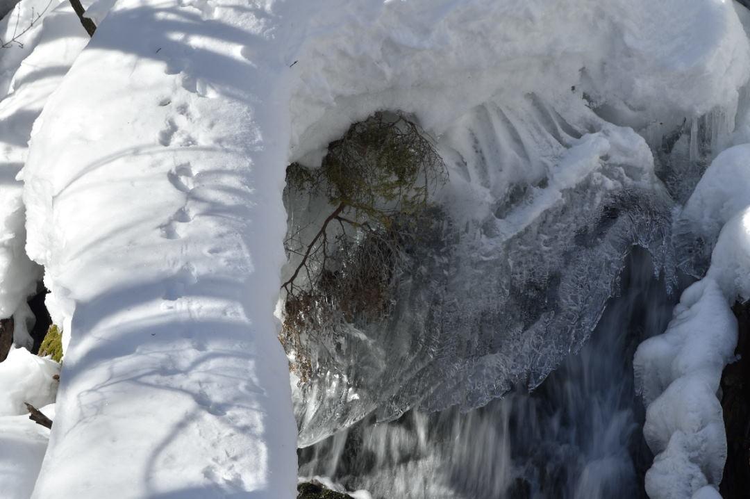 下流の氷結