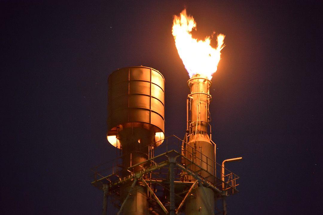 排ガス燃焼塔
