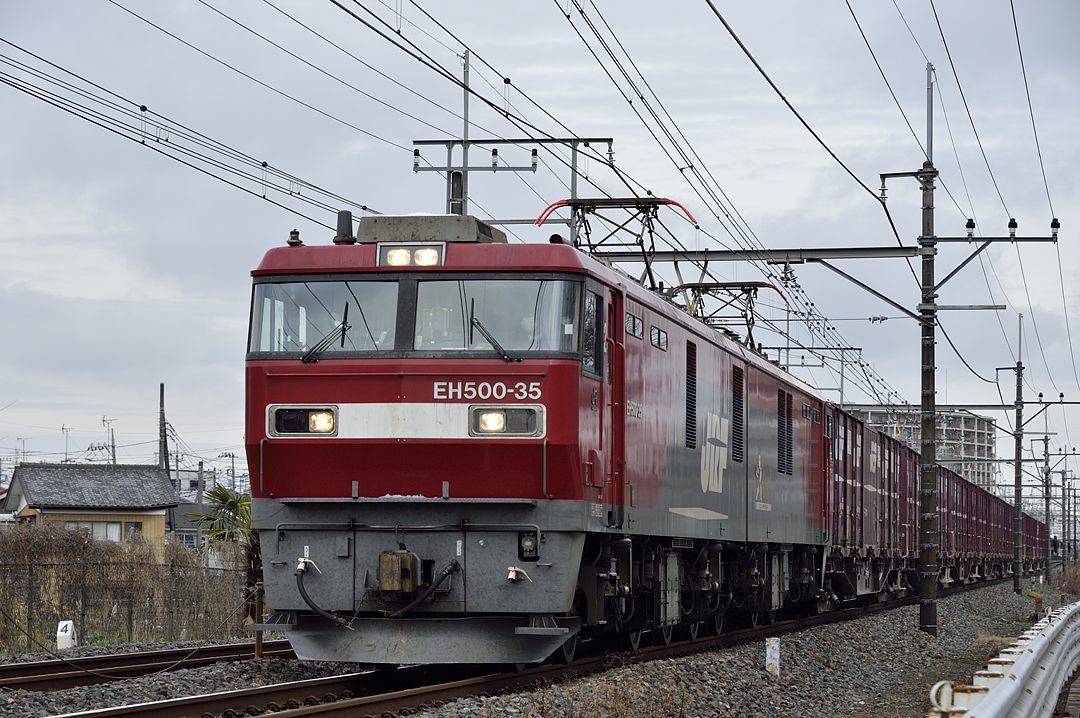 【11:58】上り・貨物列車