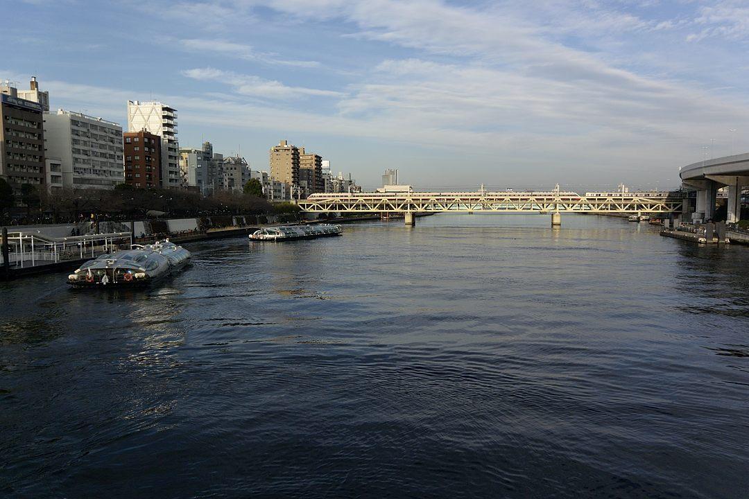 吾妻橋からの眺め