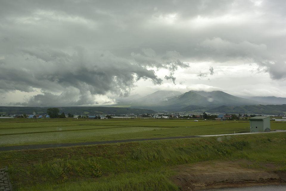 ダイナミックな雲の動き