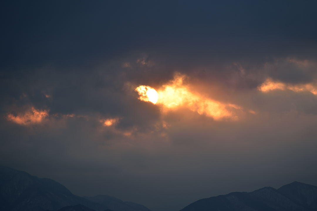 【16:11】 太陽が一番見えた