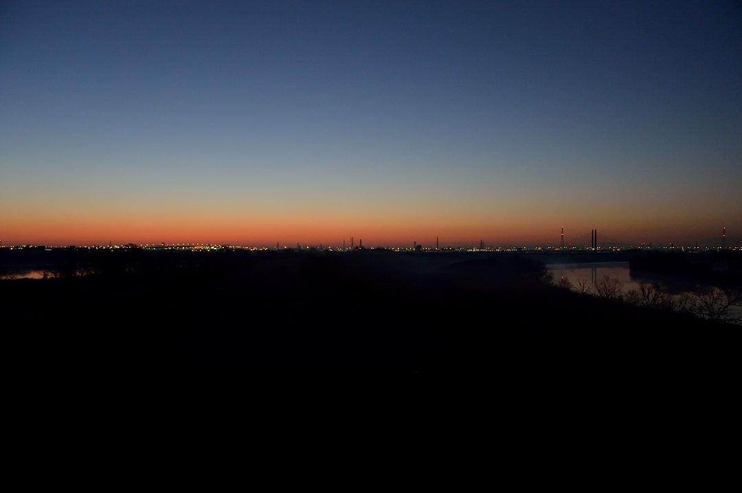 【06:11】 夜明けの空
