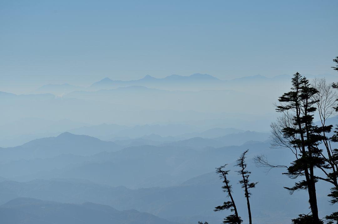 駒ケ岳、北岳~荒川岳の南アルプス