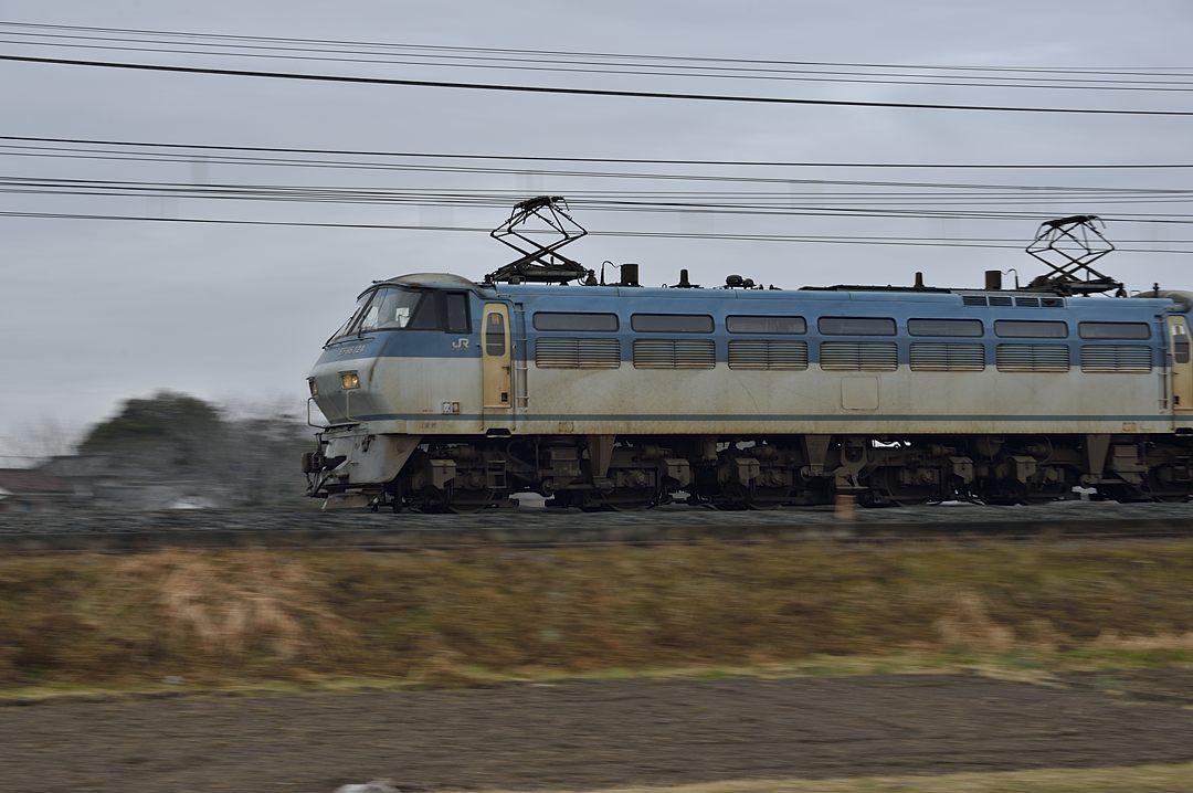 【11:07】上り・貨物列車